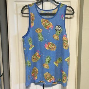 Vans Pineapple Tank Top Size Small